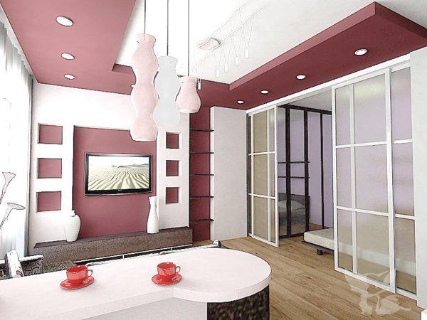 Cовременный дизайн 2 х комнатной квартиры: советы (+39